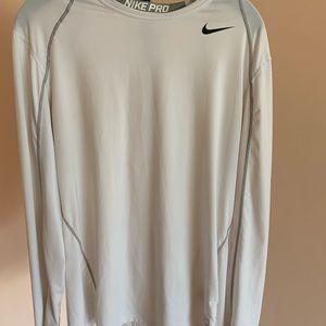 Nike dry fit long sleeve t-shirt.